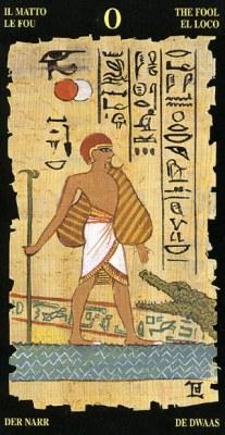 Шут - Колода Египетского Таро