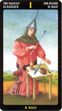 Маг - Таро Иеронима Босхо