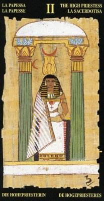 Жрица - Колода Египетского Таро