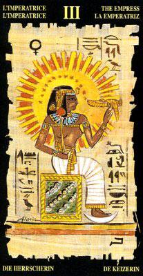 Императрица - Колода Египетского Таро