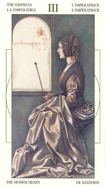 Императрица - Таро Леонарда да Винчи