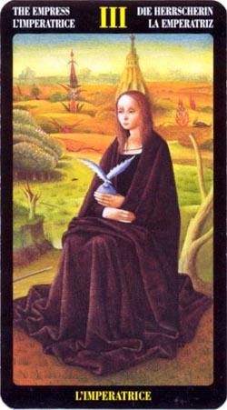 Императрица - Таро Иеронима Босхо