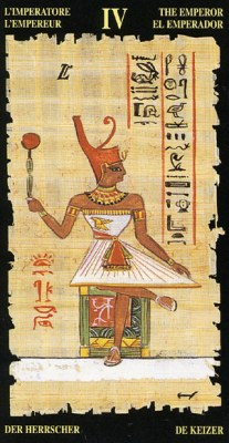 Император - Колода Египетского Таро