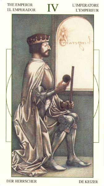 IV Аркан Таро – Император