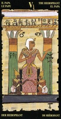 Жрец - Колода Египетского Таро