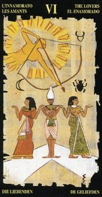 Влюбленные - Колода Египетского Таро