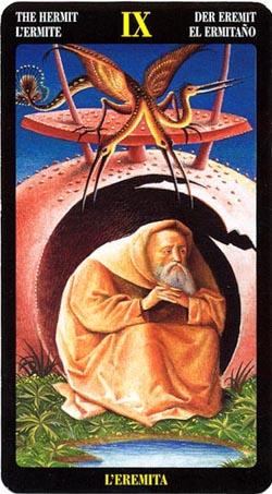 Отшельник - Таро Иеронима Босхо