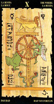 Колесо Фортуны - Колода Египетского Таро