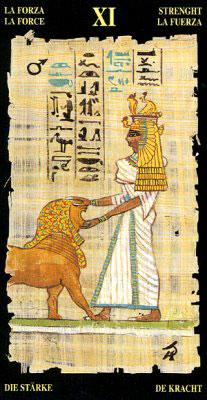 Сила - Колода Египетского Таро