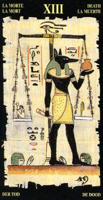 Смерть - Колода Египетского Таро