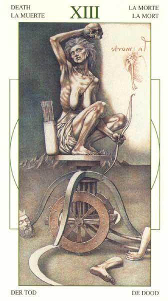 Смерть - Таро Леонарда да Винчи