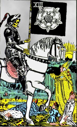 XIII Аркан Таро – Смерть. Изменение.