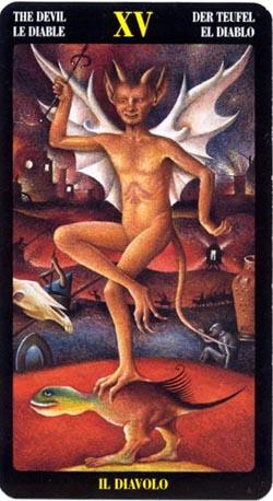 Дьявол - Таро Иеронима Босхо