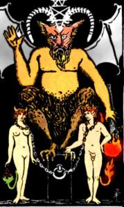 XV Аркан Таро – Дьявол. Тень.