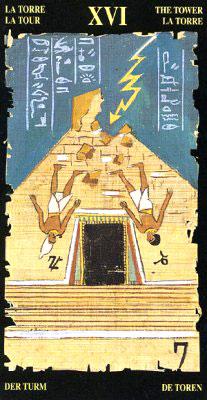 Башня - Колода Египетского Таро