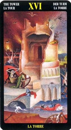 Башня - Таро Иеронима Босхо
