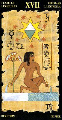 Звезда - Колода Египетского Таро