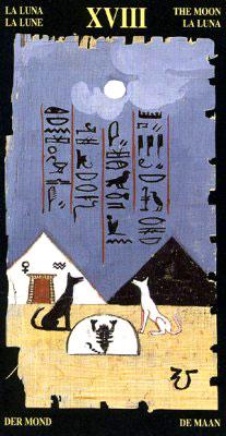 Луна - Колода Египетского Таро