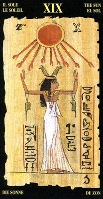 Солнце - Колода Египетского Таро