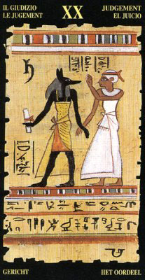 Суд - Колода Египетского Таро