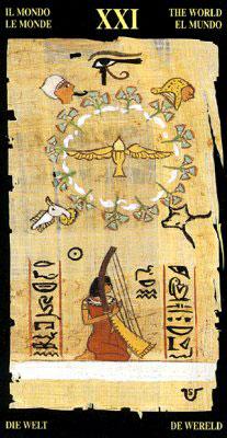 Мир - Колода Египетского Таро