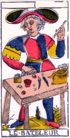Маг - Марсельская колода таро