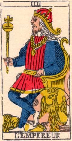 Император - Марсельская колода таро