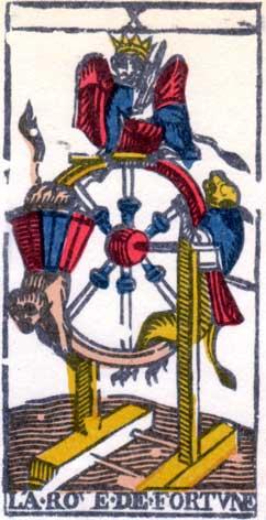 Колесо Фортуны - Марсельская колода таро