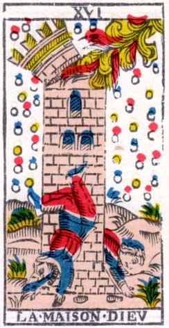 Башня - Марсельская колода таро